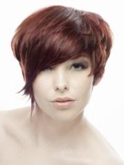 flirty short hairstyle ideas