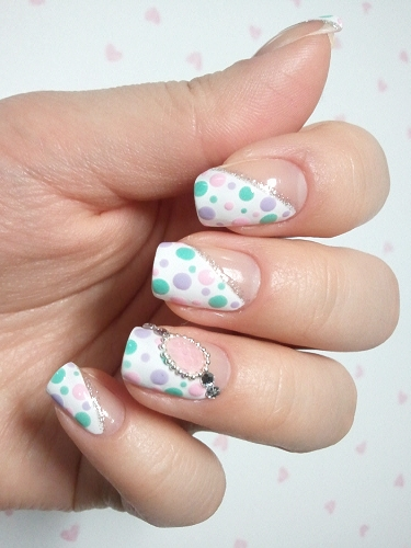 Blending Beautiful Cool Nail Design A Question For My Sweet Art