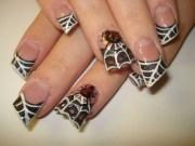 minute halloween nail art