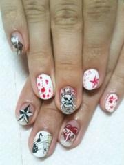 cool nail art design spring