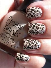 easy nail art design winter