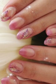 stylish theme nail art design