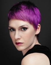 short hair cuts and color 2013