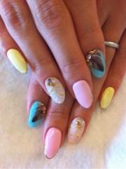 trendy nail art ideas summer