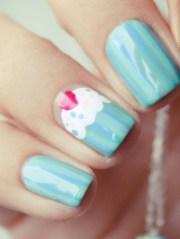make cupcake nail art