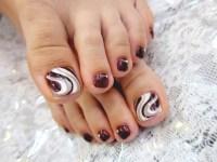 Pedicure Nail Art Designs for Fall.