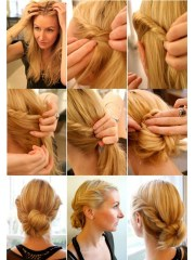 3 everyday twisted hairstyles