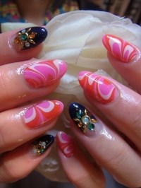 Bedazzled Nail Art Designs for Summer 2012.
