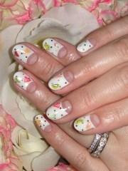 moon manicure design