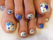 chic toe nail art ideas summer