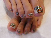 chic toe nail art ideas summer