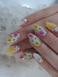 Acrylic Nail Art Designs for Summer.