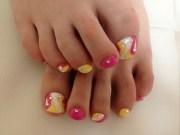 toenails pedicure