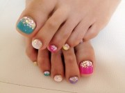 pretty pedicure nail art ideas