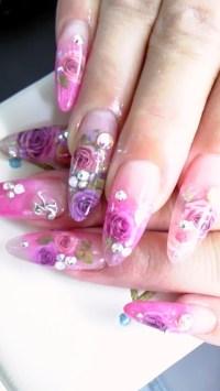 Glamorous Nail Art Designs.