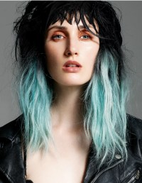 Punk Chic Hair Color Ideas 2012.