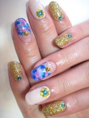 modish spring nail art ideas
