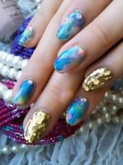 color mix nail art ideas summer