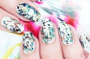 nails special effects graffiti