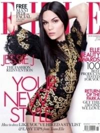 Jessie J Covers Elle UK November 2012
