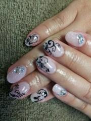 cool nail art design fall