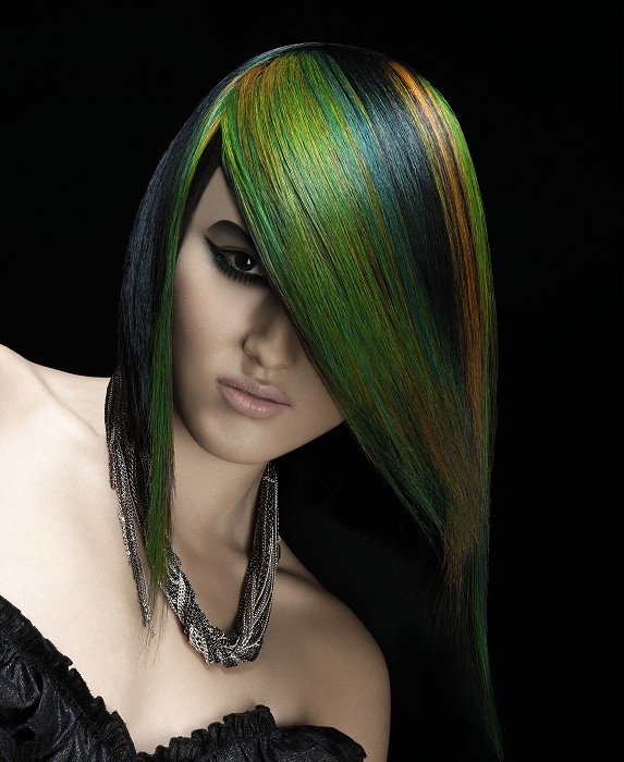 Cool MultiChromatic Hair Color Ideas for Fall 2012