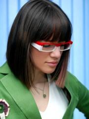 pretty in glasses