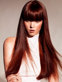 Pictures : Winter Hair Color Ideas 2013 - Auburn Brown ...