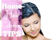 tips dye hair