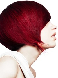 Pictures : Dark Red Hair Color: Is It Right for You ...