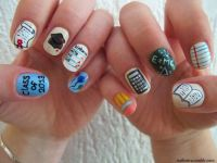 Back to School Nail Art Ideas.