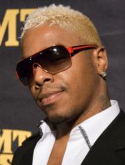 black guys with blonde hair trendy