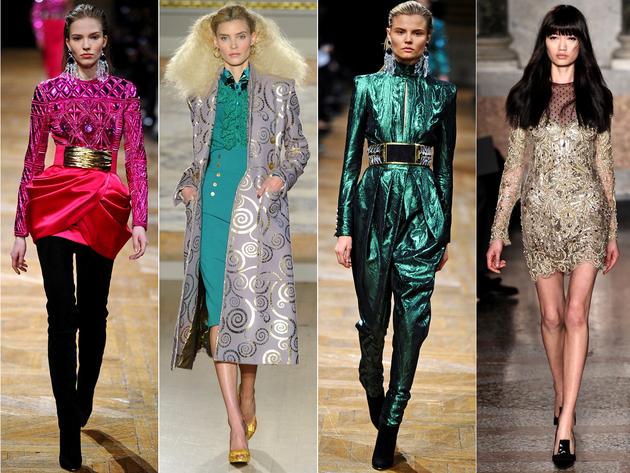 Metallics Fashion Trend