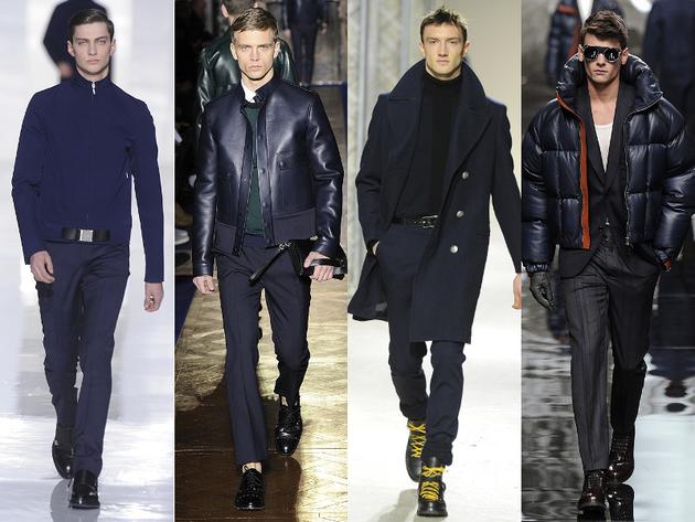 Navy Menswear Trend Fall 2013