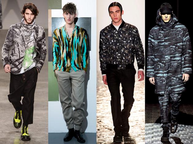 New Camo Menswear Trend Fall 2013