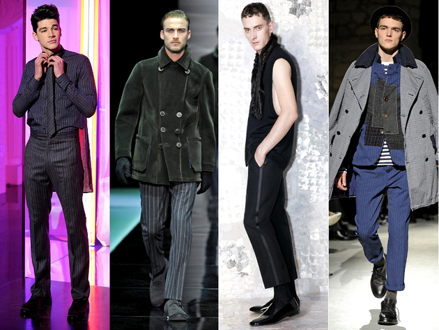 Striped Pants Menswear Trend Fall 2013
