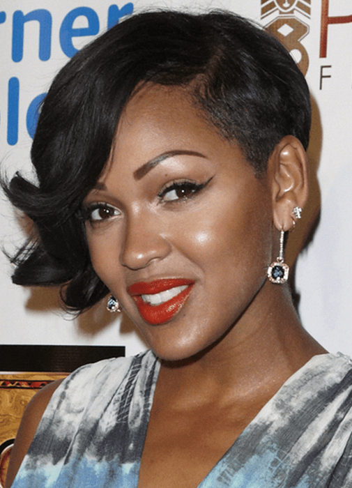 Pictures  Meagan Good Hairstyles Which One Do You Like Best  Meagan Good Short Hairstyle