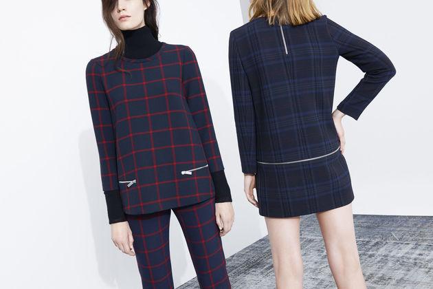 Zara Lookbook Checks