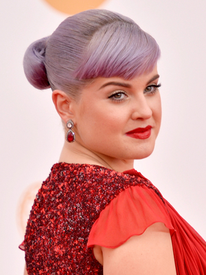 Kelly Osbourne Updo With Bangs