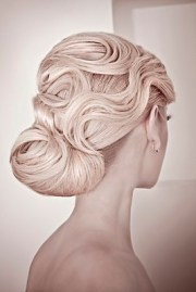 chic updo hairstyles bridesmaids