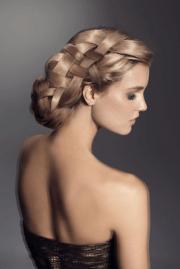 chic updo hairstyles bridesmaids