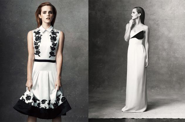 Emma Watson Net A Porter 2013
