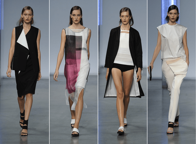 Helmut Lang Spring 2014 Collection