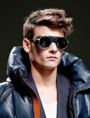 men runway hairstyles 2013