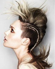 girl mohawk hairstyles trends