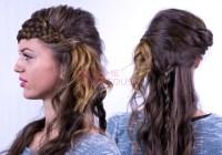 7 Strand Braid Tutorial | Katniss Everdeen Hairstyle Video.