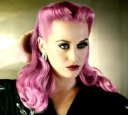 pink hair colors celebrities
