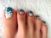 toe nail design - summer