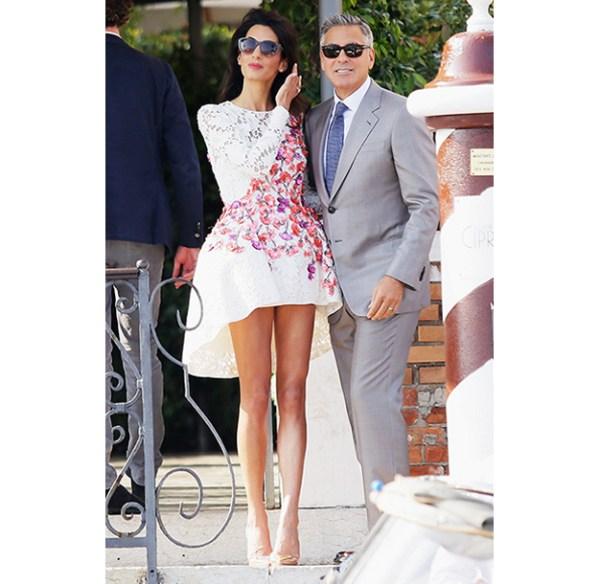 Amal Clooney The Post Wedding Brunch
