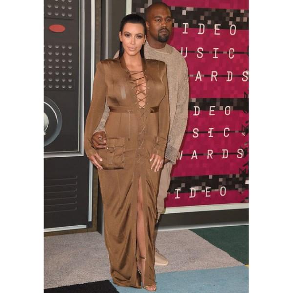 Kim Kardashian West 2015 Mtv Video Music Awards